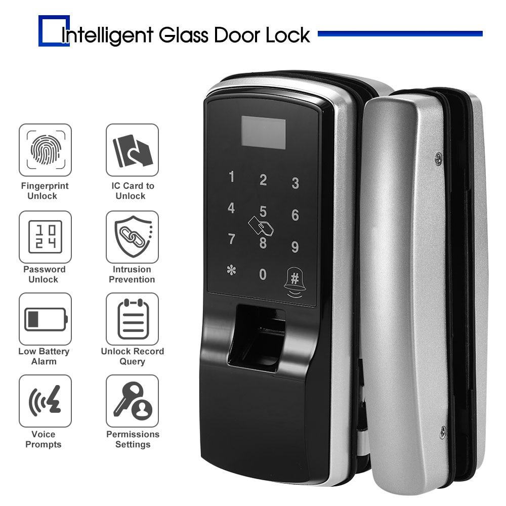 Zugangskontrolle Smart Tür Intelligente Fingerprint-sperre Digitale Touchscreen Elektronische Keyless Touch-screen Lock Für Einzel/doppel Offenen Tür