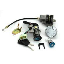 GY6 49 50cc interrupteur dallumage serrure à clé réservoir de gaz ensemble de bouchons pour Scooter cyclomoteur TaoTao paix Roketa Jonway NST réservoir