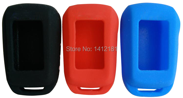 Wholesale A92/A94 Keychain Silicone Case For Two Way Car Alarm System LCD Remote Control Key Chain Starline A92/A94/V62/A62/A64