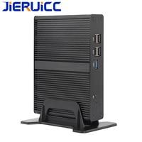 Mini PC Fanless intel Core i3 6100U i3 7100U 4K HD Mini Computer Celeron 2955U for office/HTPC/Call center/home computer
