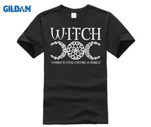 GILDAN 2018 Witch Wiccan Pagan Shirt- W I T C H Shirt blouse c h i c female chic