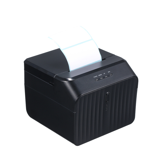 US $40 99 48% OFF|58mm BT Thermal Receipt Printer Auto Cutter Compatible  with ESC POS Commands USB Port Clear Printing for iOS Android Windows-in