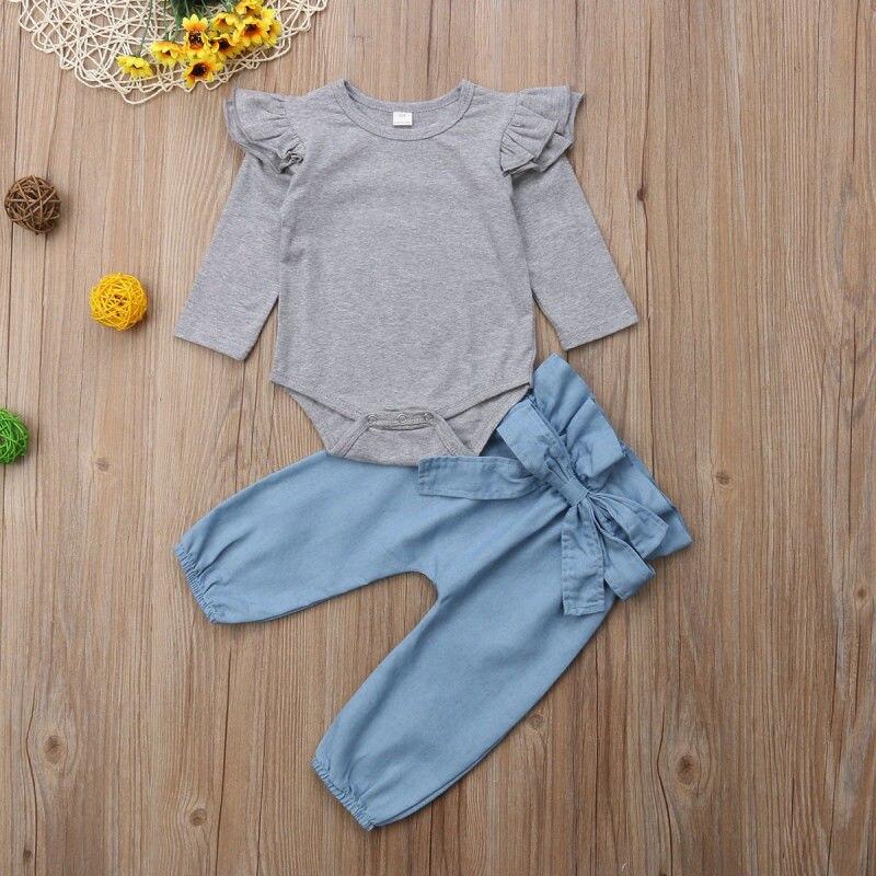 b94114aae Conjunto de ropa para niños 2019 vestido para Niñas Ropa para niñas  vestidos para niñas Tops. Ropa de chica Pudcoco traje Carters US recién  nacido bebé ...