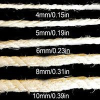 Cat Scratch Board Cat Climbing Frame Accessories Pet Special Bleached Sisal Rope 4 10MM Standard Homemade DIY Cat Toy