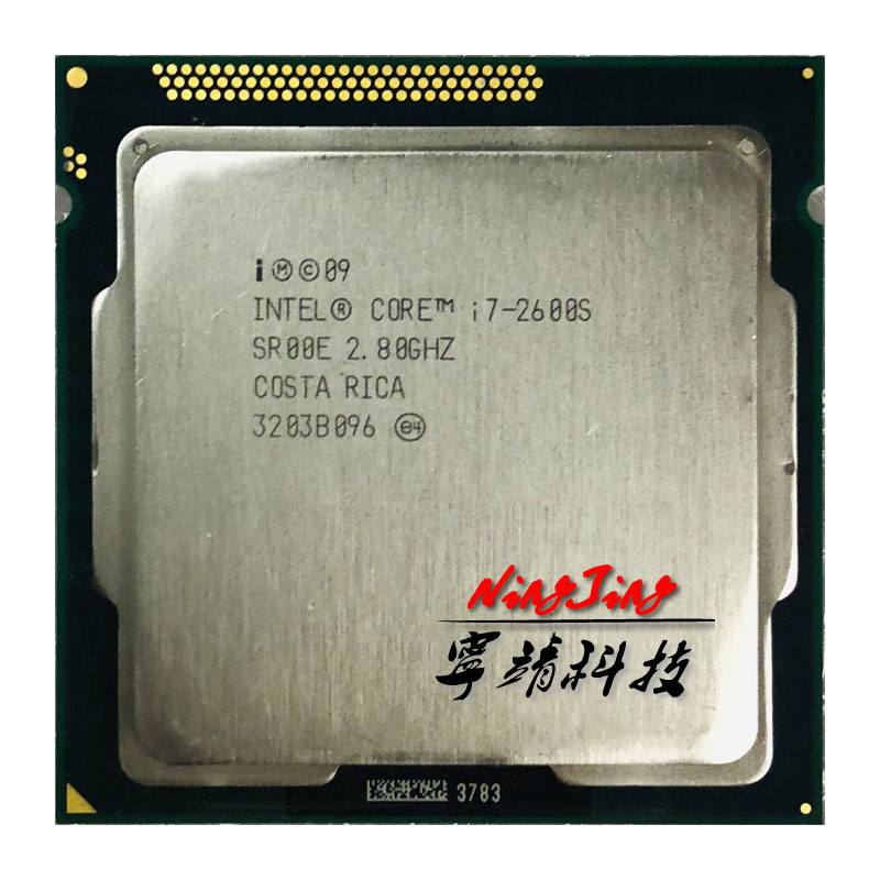 Intel Core i7 2600S i7 2600S i7 2600 S 2 8 GHz Quad Core Eight Core