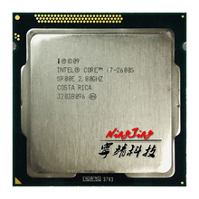 Intel Core I7-2600S I7 2600 S I7 2600 S 2.8 Ghz Quad-Core a Otto Core 65W Cpu processore Lga 1155