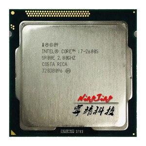 Image 1 - معالج انتل كور i7 2600S i7 2600 S i7 2600 S 2.8 GHz رباعي النواة ثماني النواة 65W وحدة معالجة مركزية LGA 1155