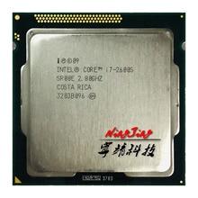 인텔 코어 i7 2600S i7 2600 s i7 2600 s 2.8 ghz 쿼드 코어 8 코어 65 w cpu 프로세서 lga 1155