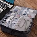 Дорожный органайзер для кабеля  сумка для зарядного устройства  провода для цифрового гаджета  чехол для наушников USB  чехол для хранения ко...