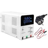 EU Plug 30V 60V 5A 10A DC Power Supply Switching 4 Digits LED Voltage Regulated Adjustable Power Source