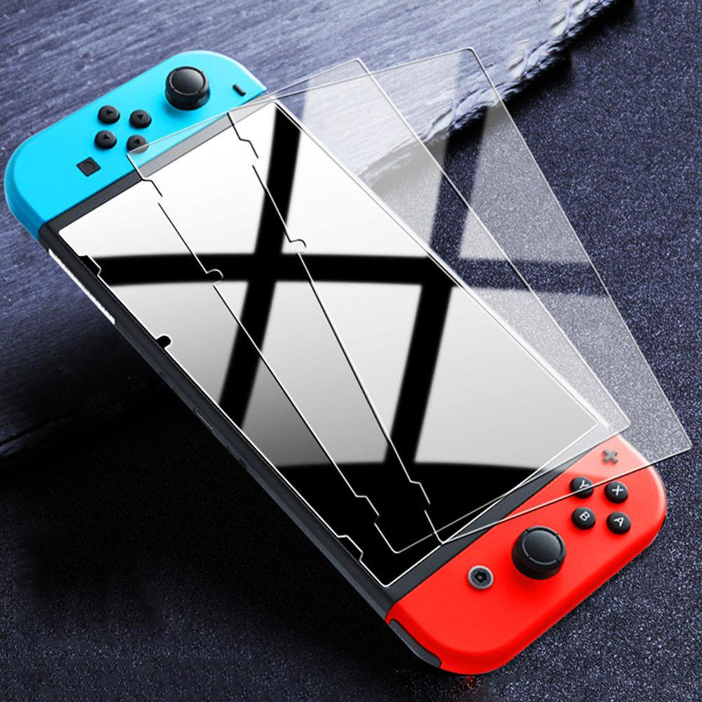EastVita For Nintend Switch Screen Protector 9H Tempered Glass 1/2/3 Pcs Protetor Film Cover For NS Console Accessories