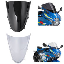 For Suzuki GSX-R125 GSXR125 2017-2018 ABS Windshield WindScreen Double Bubble Smoke
