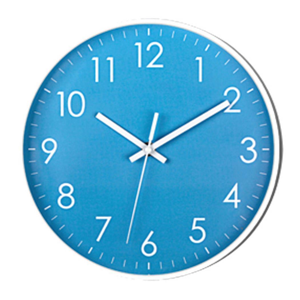 10-Inch Quartz Clocks Creative Simple Stylish Modern Indoor PVC Silent Battery(Not Included) Wall Clock Art Decor
