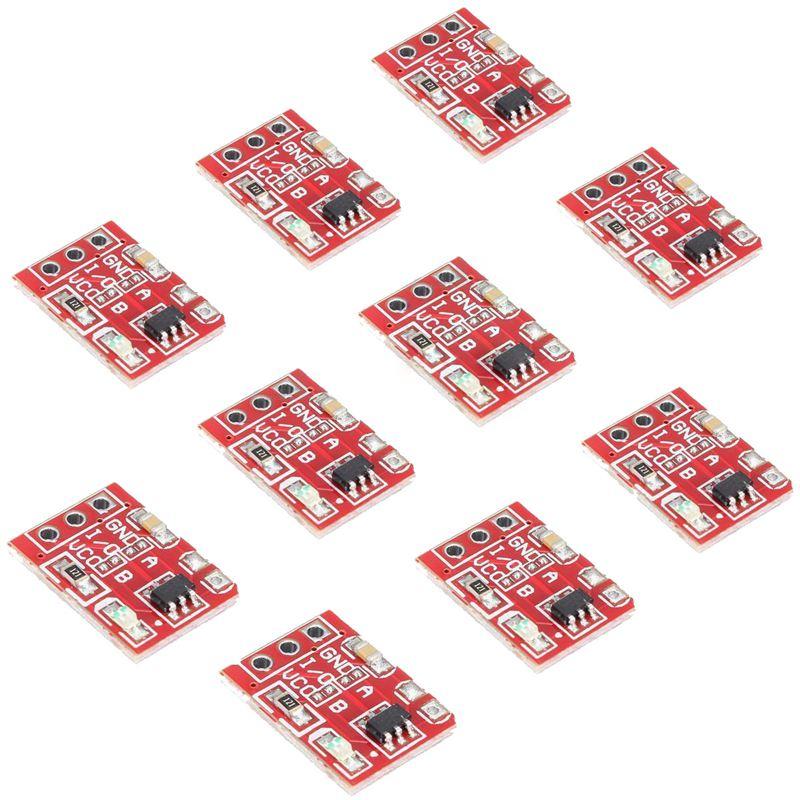 10 шт. TTP223 емкостная сенсорная кнопка переключения, модуль самоблокировки для Arduino l8
