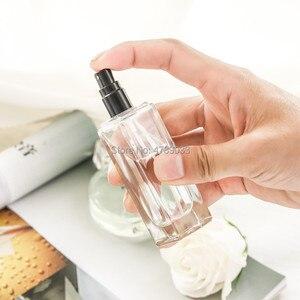 Image 4 - 10 adet 3ml 4ml 7ml 20ml 30ml Seyahat Temizle Cam Parfüm Atomizer Küçük Mini Boş sprey Doldurulabilir Şişe Altın/Gümüş Kap