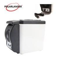 Multi Function Double Use Warmer Portable ABS Car Boat Refrigerator Mini Fridge 12V 48W Travel Home Cooler Auto Freezer