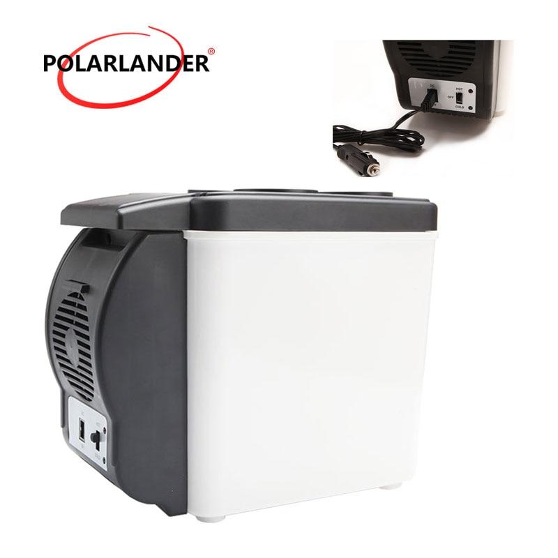 Multi-Function Double Use Warmer Portable ABS Car Boat Refrigerator Mini Fridge 12V 48W Travel Home Cooler Auto Freezer