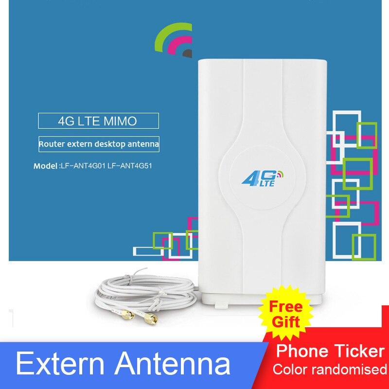 3G 4G LTE Wifi 88 dBi antena TS9 SMA CRC9 conector Router externa antena con cable de 2 metros para Huawei 4G LTE Router Modem