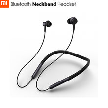 Newest Xiaomi Bluetooth Neckband Headset | Apt-x Support Aac Codec | Hybrid Dual Driver | Skin Care Light Sports Leisure(China)