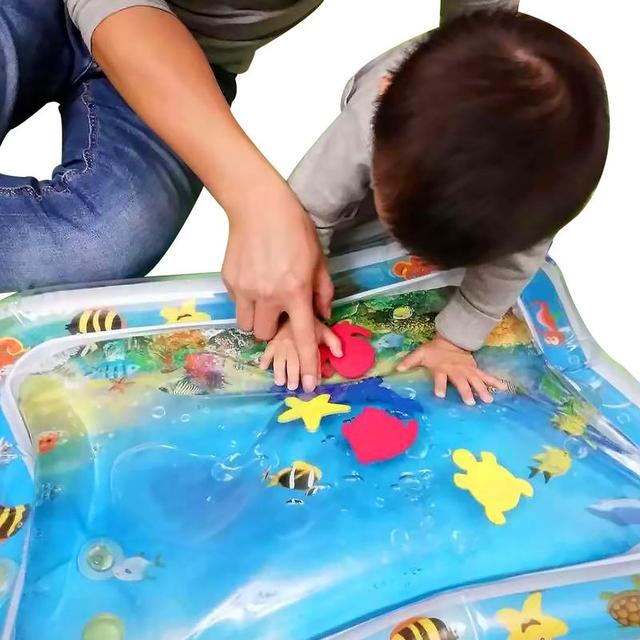 2019 Creative Dual Use Toy Baby Inflatable Patted Pad Baby Water Cushion Prostate Water Cushion Pat toy SGS certification 3