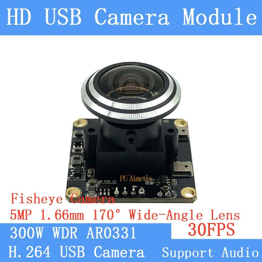 1080P Full HD fisheye Wide-angle CCTV Surveillance camera 3MP UVC H.264 Wide Dynamic 30FPS USB Camera Module Support audio1080P Full HD fisheye Wide-angle CCTV Surveillance camera 3MP UVC H.264 Wide Dynamic 30FPS USB Camera Module Support audio