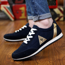 Men Casual Shoes Lightweight Plus Size Breathable Lace-up Male Sapatos masculinos Non-slip Colorblock canvas shoes deportiva