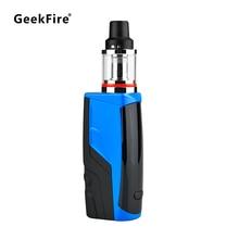 GeekFire 100W Electronic Cigarette Vape Mod Kit L100 Box 2200mAh Battery L24 Subohm Tank 0.3ohm Top Airflow Control Top Filling