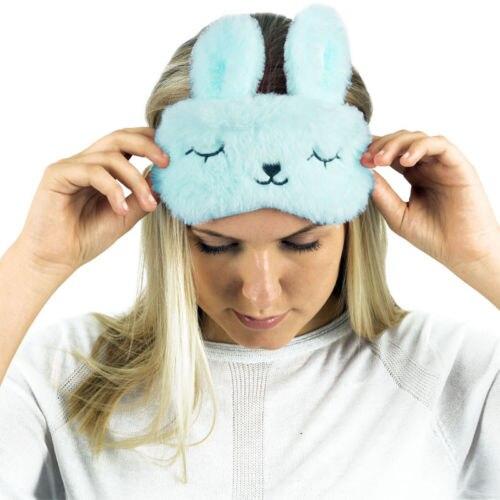 Diskret Spaß Tier Charakter Reise Auge Schlaf Maske W/kühlung Gel Pad Verbesserte Schlafen Niedlichen Tier Frauen Schlaf Augen Maske Bekleidung Zubehör