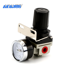SMC Type Pressure Regulating Valve AR2000-02 G1/4'' Pneumatic mini air pressure regulator air treatment units 0-1MPA free shipping economical excellent brand smc series air combination units smc ac 4010 type welding we are the best