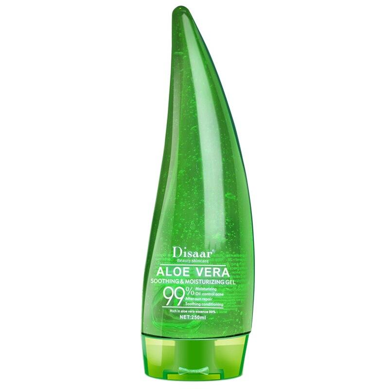 Disaar Aloe Vera Gel After Sun Repair Moisturizing Soothing Acne Cream Hyaluronic Acid Whitening Anti-Aging Gel Replenishing W