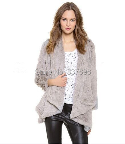f0d9744698 Buy rabbit fur knitted vest and get free shipping on AliExpress.com