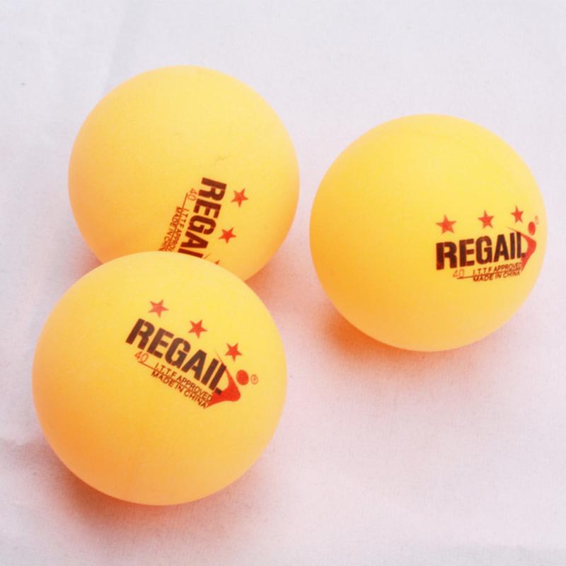 Three-star D40 + <font><b>Table</b></font> <font><b>Tennis</b></font> Six Packs (three-star, New Material Samsung Seam <font><b>ABS</b></font> <font><b>Ball</b></font>) Plastic <font><b>Table</b></font> <font><b>Tennis</b></font> image