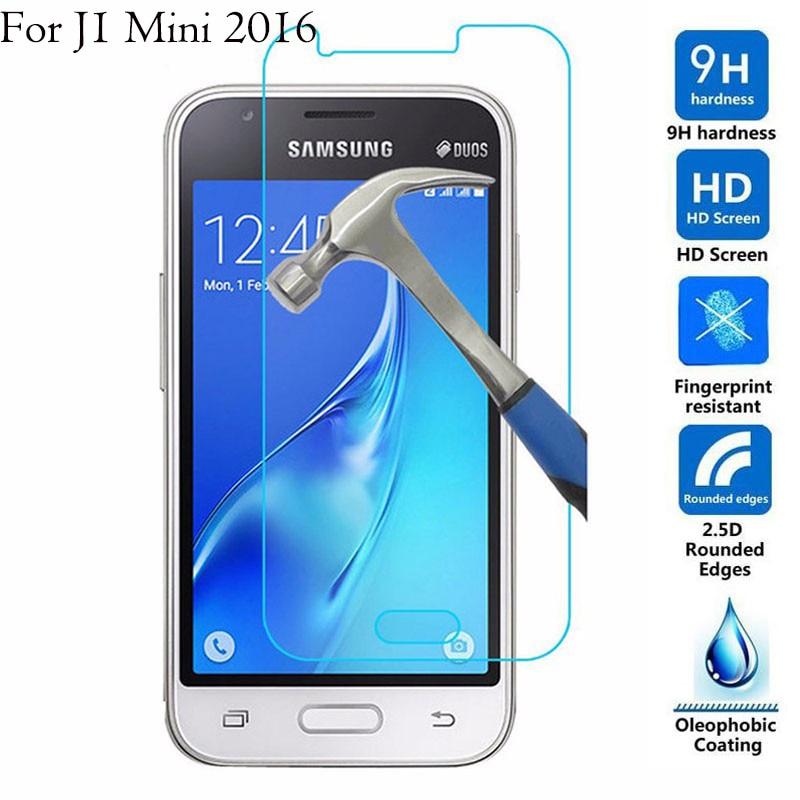 Para Samsung Galaxy J3 J5 J7 2016 J1 mini J120F 2.5D 9 H tela de Vidro Temperado para Galaxy J5 2017 j330 j530 J730 Filme Protetor