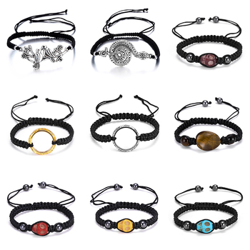 Skull My Heart Shared Secrets My sister friend Buddhist Good Lucky Charm Tibetan Bracelets  Bangles Handmade Knots Rope Bracelet buddhist rope bracelet