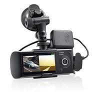 New Dash Camera 2.7 Vehicle Car DVR Camera Video Recorder Dash Cam G Sensor GPS Dual Lens Camera R300 Car DVRs