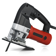 Curve Jig Saw Handheld Skill Saw Electric Power Tools Scroll Saw for Cutting Thin Metal Plates Plastic Sheets Woodworking