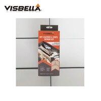 Visbella 48pcs Liquid Skin DIY Leather Vinyl Restore Tools Leather Repair Kit For Sofa Coats Hole Crack Rip Auto Car Care Repair