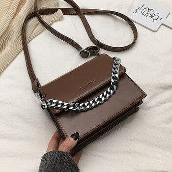 51b7574f0 Bolso bandolera de mano para mujer bolsos de cuero de lujo de marca famosa  de diseñador para mujer