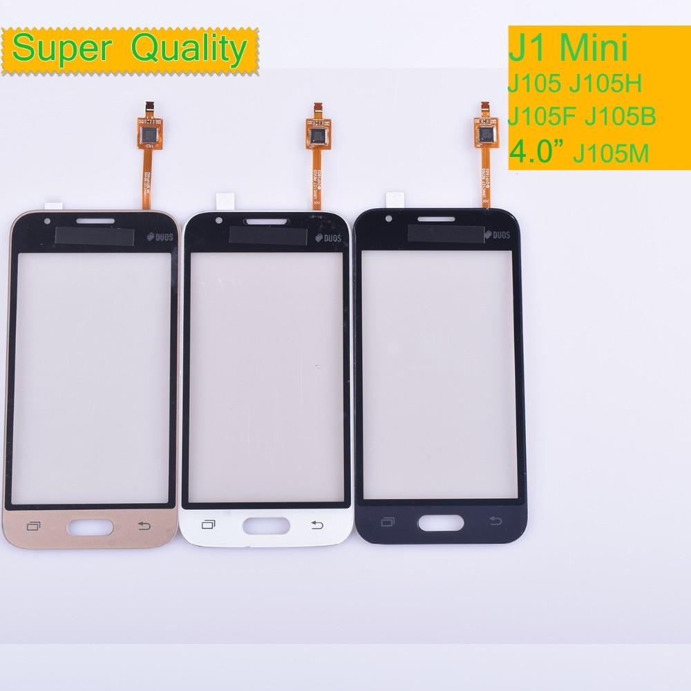 10pcs For Samsung Galaxy  J1 Mini J105 J105H J105F J105B J105M SM-J105F Touch Screen Panel Sensor Digitizer Glass Touchscreen