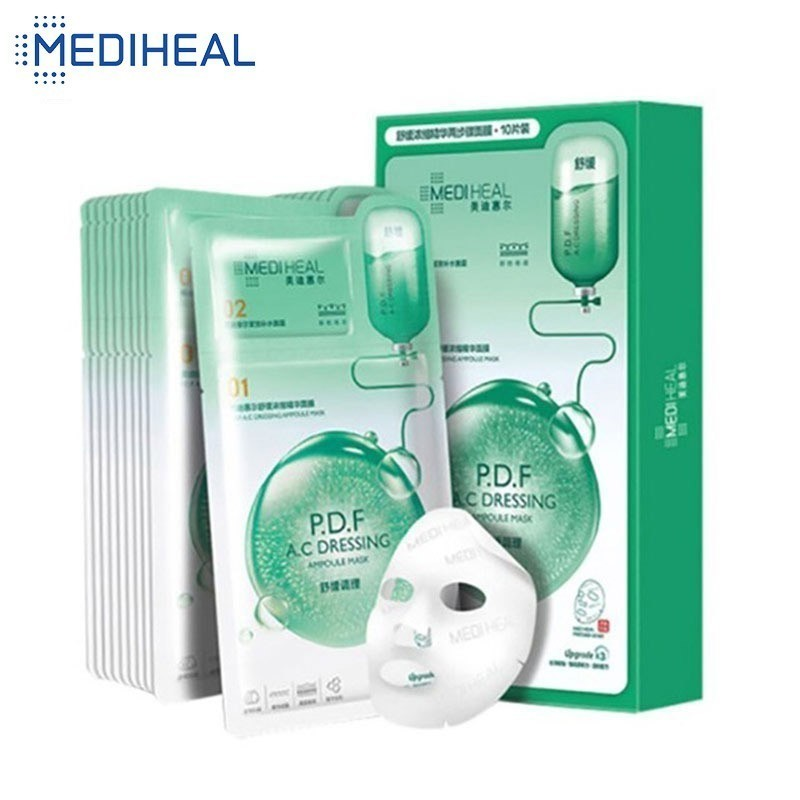 2 Steps Mediheal Soothing Hydration Concentrated Essence Moisturizing Face Mask + Face Cream Lifting Skin Care Korean Cosmetic