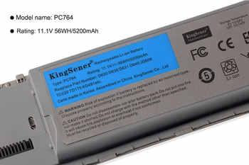 KingSener 11.1 V 5200 mAh 韓国携帯 PC674 Dell の D620 D630 D631 D640 D63C D630N D631N D830N JD606 TC030 TD175 KD491