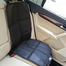 Универсальный полиэстер PU Чехол-протектор на автомобильное сиденье защита сиденья Подушка коврик ребенок детские стулья авто аксессуары черный