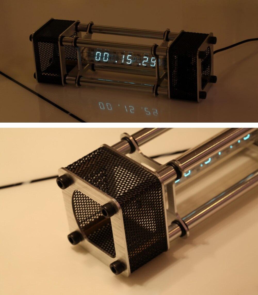 В разобранном виде IV 18 люминесцентная трубка электронные часы комплект DIY 6 цифровой дисплей энергетический столб с модулем дистанционного управления - 3