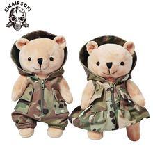 Плюшевый медведь Тактический Медведь кукла мультфильм плюшевая
