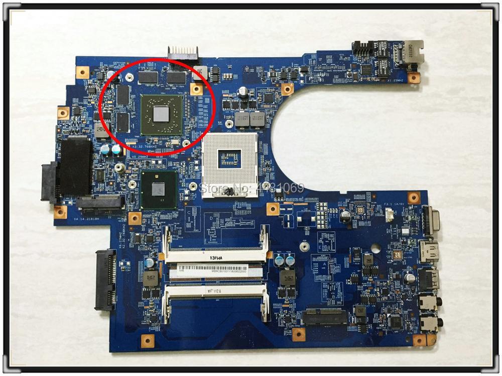 Материнская плата MBPT501001 S989 HM55 HD5650/1 ГБ для ноутбука Acer 7741G 7741ZG, быстрая доставка, в хорошем состоянии