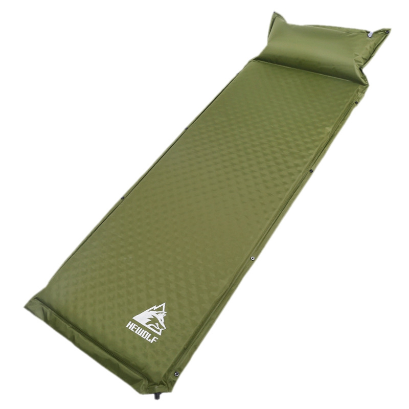 Hewolf Outdoor 188 65 5Cm Single Automatic Inflatable Cushion Pad Thickening Inflatable Bed Mattress Outdoor Tent