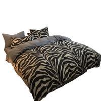 Linge Lencoes Ropa Nordico Cama Couvre Lit De Luxe Queen Comforter Cotton Bedding Bed Linen Sheet And Quilt Bedsheet Set