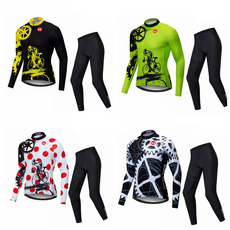 Best Sale  cycling jersey men cycling clothing Long sleeve 2019 mtb ... ef159f37a