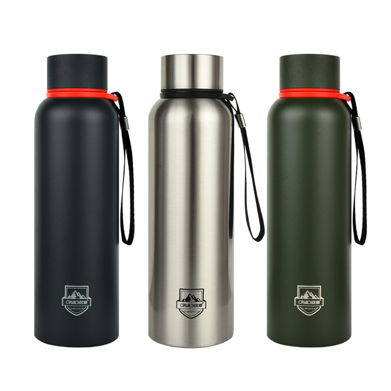 ANJIALT 850ML  700ML 520ML Double Wall Thermos Bottle Portable Sport Stainless Steel Vacuum Flasks Travel Mug Thermo Thermocup