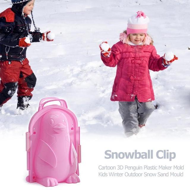 1Pc Snow Ball Maker Clip Sand Molding Tool 5